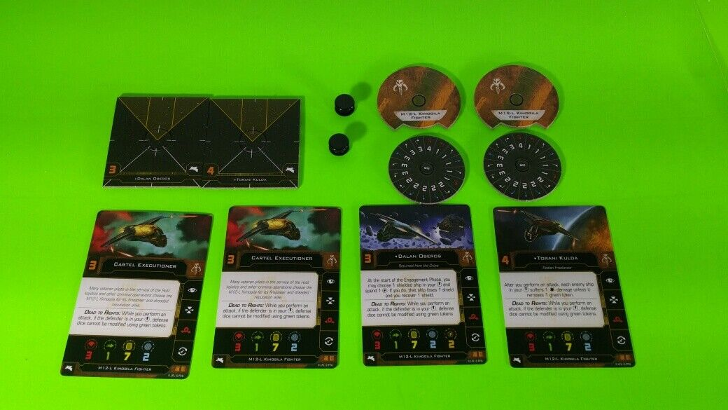 X-Wing Miniatures Game 2.0 2nd Edition Supplies - Single Conversion Kits 2.0 Kimogila Fighter (conversion kit)