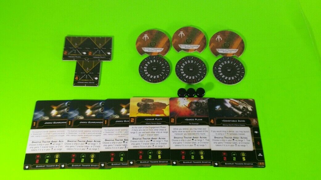 X-Wing Miniatures Game 2.0 2nd Edition Supplies - Single Conversion Kits 2.0 Quadjumper (conversion kit)