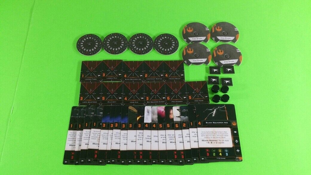 X-Wing Miniatures Game 2.0 2nd Edition Supplies - Single Conversion Kits 2.0 T-70 X-Wing (conversion kit)