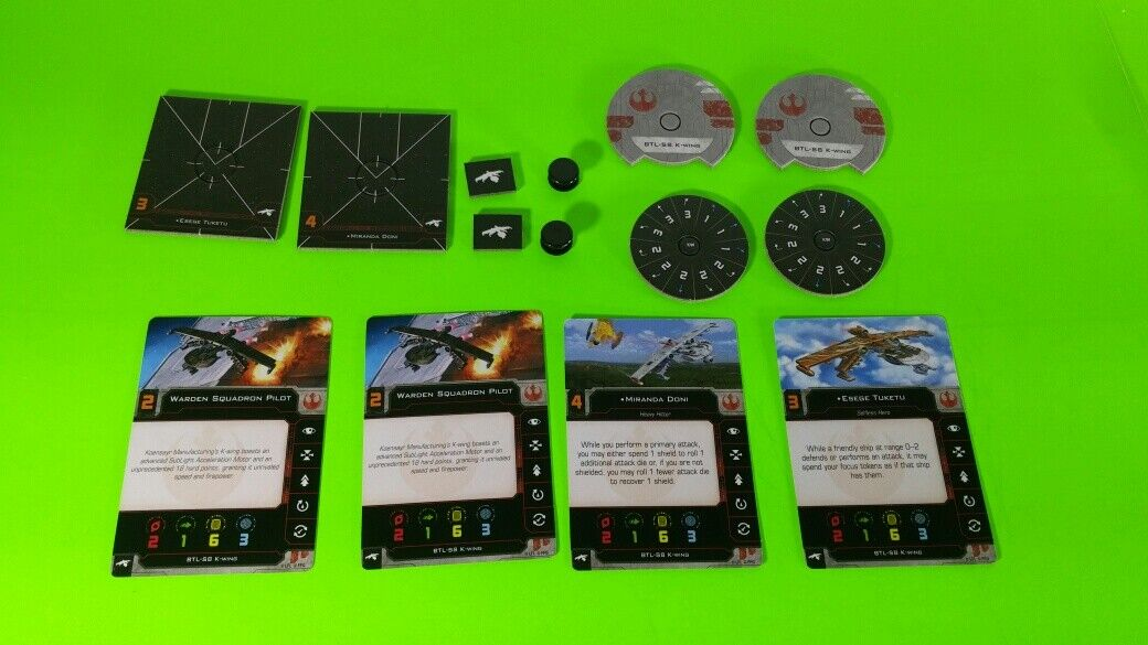 X-Wing Miniatures Game 2.0 2nd Edition Supplies - Single Conversion Kits 2.0 K-wing (conversion kit)
