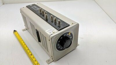 Yamabishi Electric S3p-240-10 B Volt Slider 2v 10a 3 Phase Powerstat Variac 240v