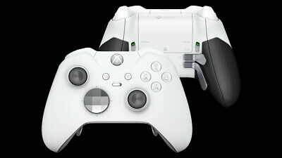Microsoft Xbox One Elite Wireless Controller - Grade A Controller - WHITE