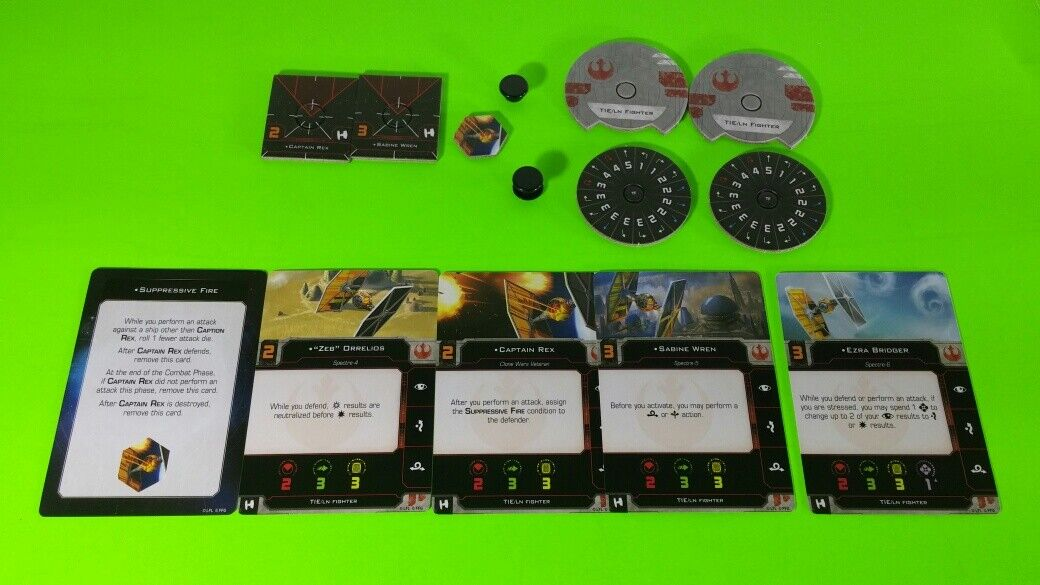X-Wing Miniatures Game 2.0 2nd Edition Supplies - Single Conversion Kits 2.0 Sabine's TIE Fighter (conversion kit)