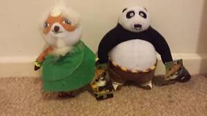 Brand new with Tags Master Shifu/ panda plush from Kungfu panda 3 Rivett Weston Creek Preview