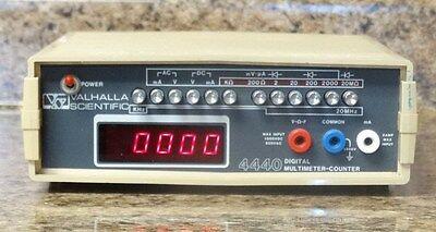 Valhalla Scientific 4440 Digital Multi-meter Counter
