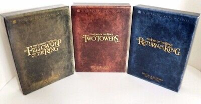 The Lord of the Rings set DVD Special Extended DVD Edition Collectors