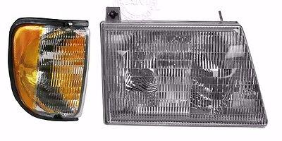 MONACO DIPLOMAT 2001 2002 2003 HEADLIGHT HEAD LIGHT LAMPS RV 2PCS - RIGHT