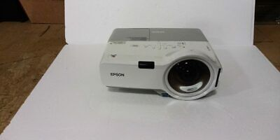 Epson PowerLite 410W H330A LCD Short Throw Projector - Only 529 hours!