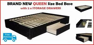BRAND NEW Queen Size Ensemble with Storage Drawers DELIVERED FREE New Farm Brisbane North East Preview