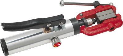 Kupfer Flare (KS TOOLS  Brems Bördelgerät  11-tlg.Flarefix II  Hydraulik  Stahl  Alu  Kupfer )