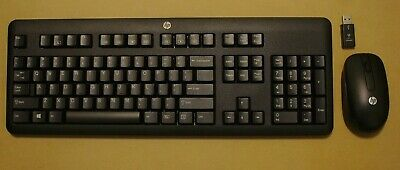 HP Wireless Keyboard and Mouse combo bundle w/ batteries included KKBRF57711