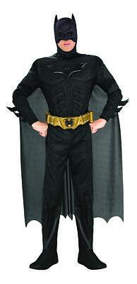 Batman Deluxe Kostüm für Herren Batmankostüm The Dark Knight ()