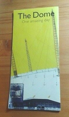 "Original ""The Dome"" Millennium Dome Visitor's Leaflet (2000) - Collectable"