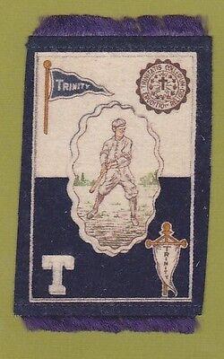 1910 Murad tobacco felt B33 TRINITY COLLEGE ( DUKE UNIVERSITY ) Baseball TOUGH