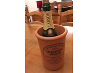 Henry Watson Champagne Cooler Terracotta pottery