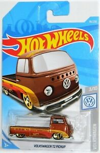 Hot Wheels 1/64 Volkswagen T2 Pickup Diecast Car