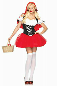 Red Riding Hood Halloween Costume - Size XS