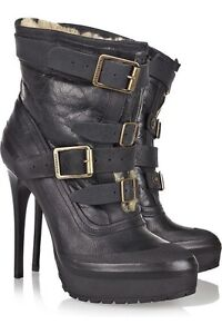 Burberry Aviator Ankle Boots- Size 39.5 South Coogee Eastern Suburbs Preview