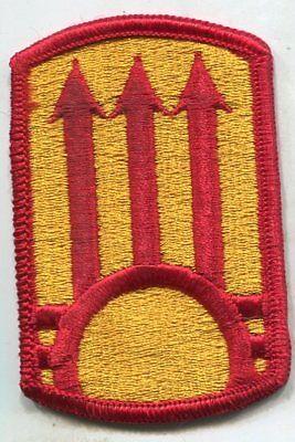 US Army 111th AIR DEFENSE ARTILLERY Merrowed Edge color Patch