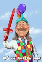 Balloon Twisting Entertainment with RJ