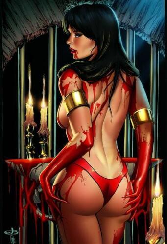 Vampirella 2 Virgin Variant by Jen Broomall Port City Comics