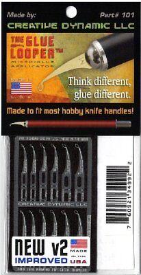 The Glue Looper V2 Micro-Glue Applicator by Creative Dynamic LLC #101