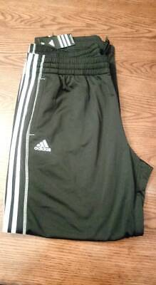 Mens Adidas Big Game Lined Warm Up Pants Size M Medium Red White 9737A