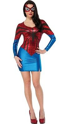 Superhero Costumes For Teenage Girls (Spider-Girl Costume for Teen/Adult size XS New w/Defects by Rubies)