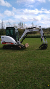 Bobcat 334 mini excavator