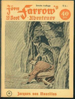 Jörn Farrow´s U-Boot - Abenteuer Nr.82 von 1957 - TOP Z0-1 ORIGINAL ROMANHEFT