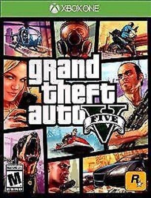 BRAND NEW SEALED Grand Theft Auto V 5 (Microsoft Xbox One, 2014) GTA V