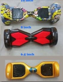 6.5 8 10 Self Balance wheel Scooters Segway Hoverboard, Colour & sizes, Brand New/Used from £130