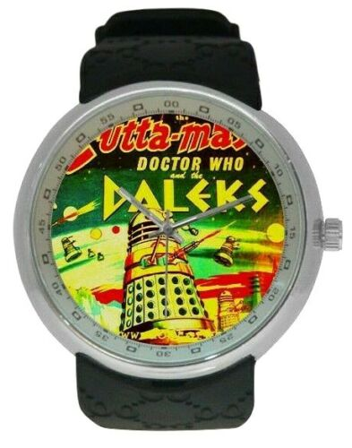 Dr WHO And The DALEKS 1965 Toy Image On A New Watch