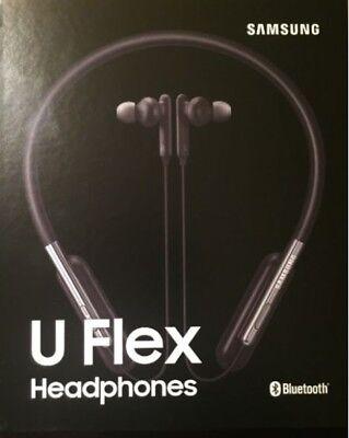 NEW Samsung U Flex Bluetooth Wireless In-ear EO-BG950 Headphones Neckband Black