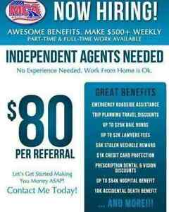 Looking to recruit motivated people to join my team!