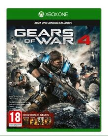 New sealed Gears of War 4 Xbox one game