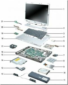 $1 Laptop Parts -- Warehouse Clearance -- All Must Go