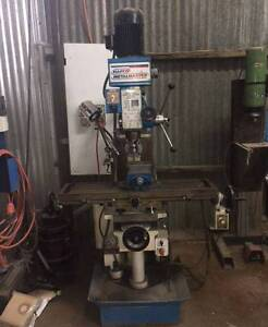 Hafco HM-52G - Turret Milling Machine Daylesford Hepburn Area Preview
