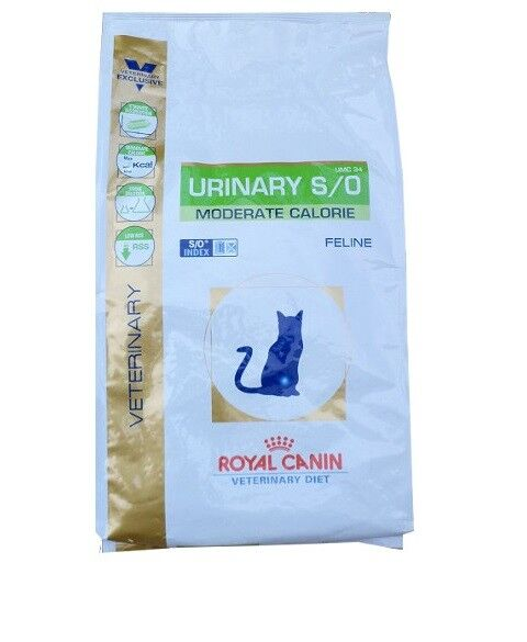 9kg Royal Canin Urinary UMC 34 S/O Moderate Calorie