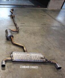 Golf R Standard Exhaust Stainless Steel