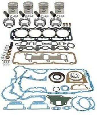 In-frame Engine Overhaul Kit For Iveco-nef N45 Turbo 8 Val Head Paperrubber Opg