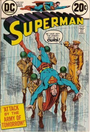 SUPERMAN #265 F, Nick Cardy cover,  DC Comics 1973