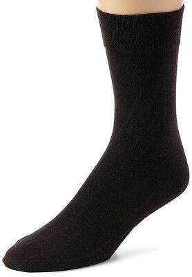 Hudson 4400 - Men Relax Socken - Baumwolle  Gr: 41-42 - Schwarzbraun 0778 - NEU