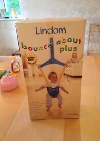Lindam Baby Bouncer - boxed hardly used