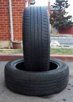 ✰✰ (2) BRIDGESTONE DUELLER ALL SEAS TIRES 235/55/19 >> $80 FOR 2