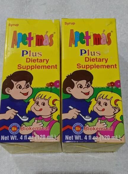 Suplemento para su niña o niño 2 Botes por solo $45 con complejo B12,1,2,3,6