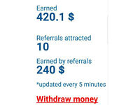 Register and EARN MONEY, 2-3 HOURS/DAY, 150$/Day NO CATCH