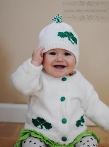 Personalized Knitted Baby Sweaters