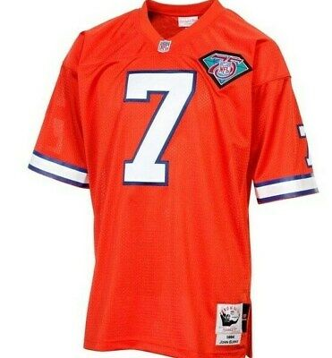 Mitchell & Ness Denver Broncos #7 Football Jersey New Mens Sizes $275 Mitchell & Ness Football Jersey