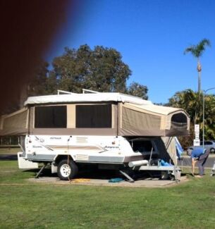 Jayco camper trailer Swan Outback 30th anniversary edition
